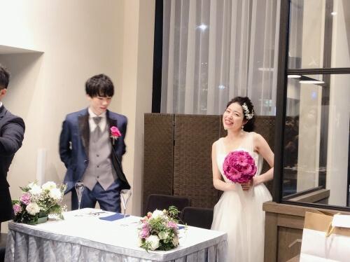 S様 国内挙式 二次会 TIG Dress お客様レビュー ご感想