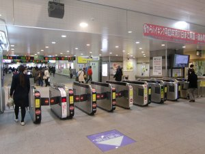 JR錦糸町駅北口改札出口
