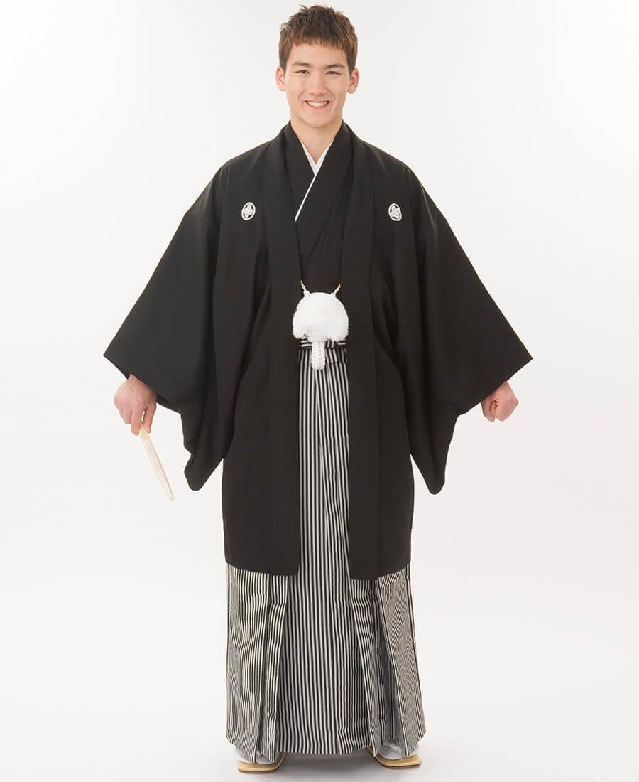 黒羽二重仙台平袴