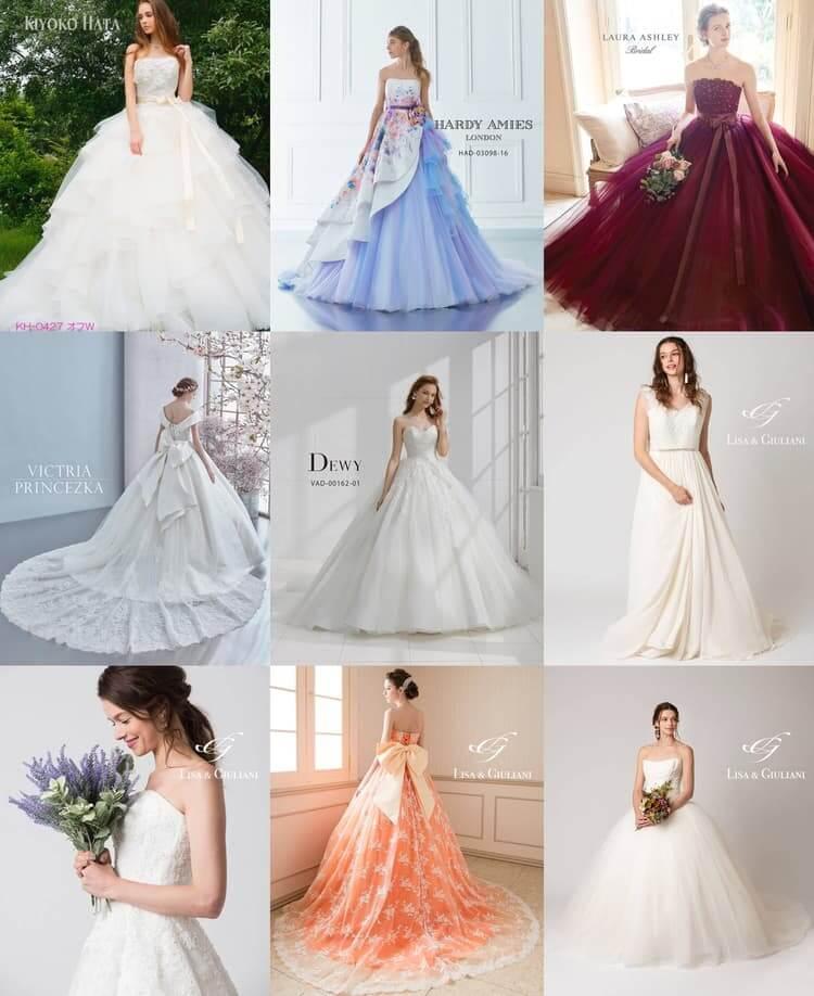 フォトウェディング写真 ウェディングドレス ウェディングドレスレンタル_TIG_DRESS_東京