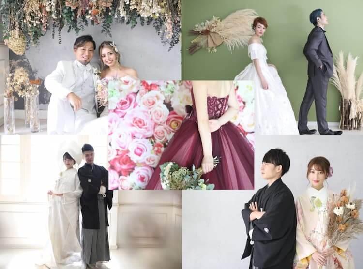 フォトウェディング 前撮り 後撮り 結婚式写真撮影