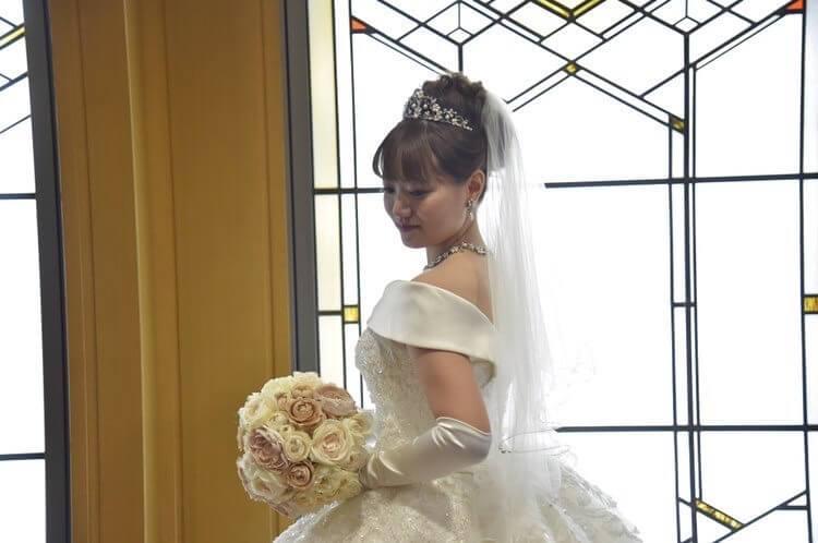ウェディングドレス フランシール(HLD-00051)