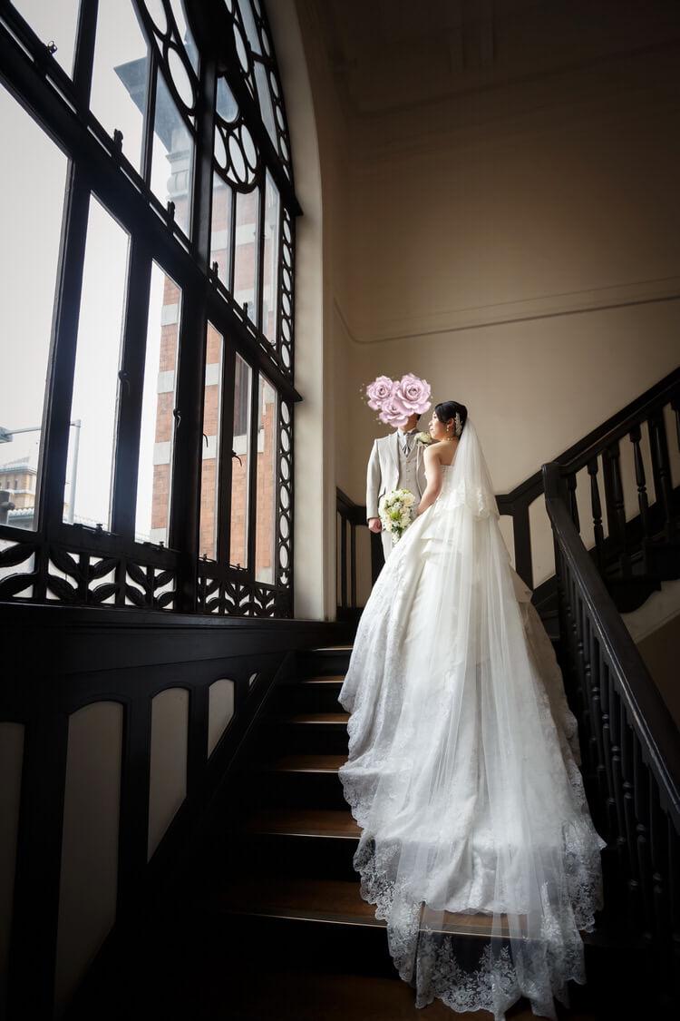 ウェディングドレス ケリー タキシード MK1201 プラチナシルバー