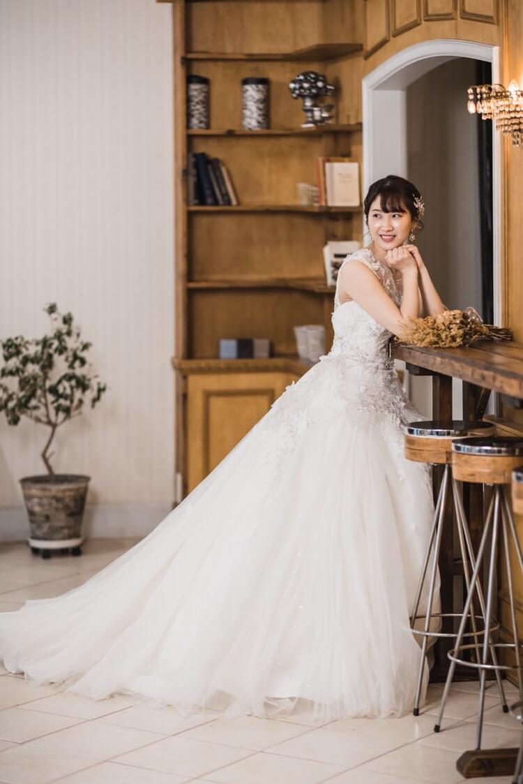 ウェディングドレス ノワール タキシード 20347