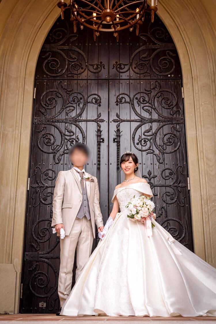 ウェディングドレス オスカー タキシード BLC