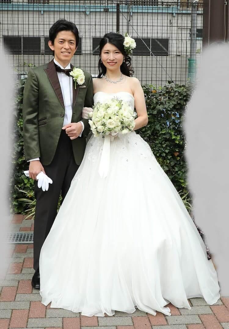 A様 ウェディングドレス ヘーゼル タキシード 20319
