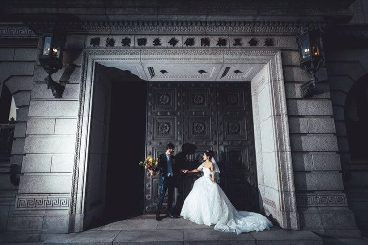ウェディングドレス レオリーナ タキシード 20307